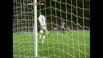 Манчестър Юнайтед - Нюкасъл 2 - 0 ( Тевес )