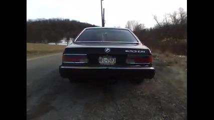 Изрязващ Звук на Bmw 633csi 1984