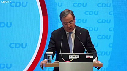 Germany: Laschet calls for unity after becoming Union chancellor candidate