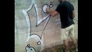 графити нова загора