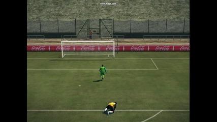 Garra Dembele goal Pes 2010