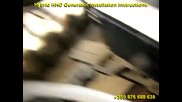 Водороден Hybrid Hho Генератор за икономия на гориво, детаилен монтаж и инструкции за безопасност