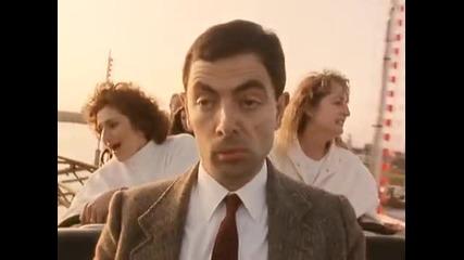 Mr Bean На влакче!(луд смях)