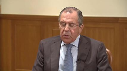 Лавров: Свалянето на руския самолет прилича на планирана провокация