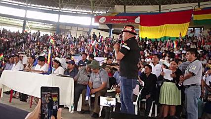 Bolivia: MAS select exiled leader Evo Morales as campaign chief
