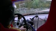 Луд Руснак с Opel Calibra Bi-turbo - Звук ... !
