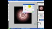 Photoshop Cs3 - Въртящо Огнено Кълбо