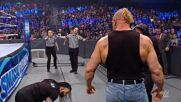 The Beast is unleashed upon Roman Reigns in absolute melee: SmackDown, Oct. 22, 2021