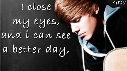Bg превод *текст*justin Bieber - Pray + link download