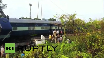 India: Train comes off the tracks in Assam, injuring several