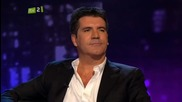 Piers Morgan with Simon Cowell - Uncut 1/7