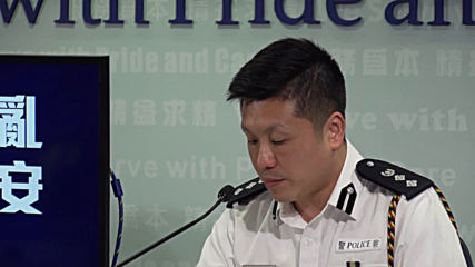Hong Kong: Officer implicated in shooting protester 'did not have bad intentions' - police