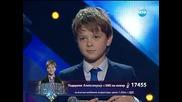 Александър Танев (песен на чужд език) - Големите надежди 1/2-финал - 21.05.2014 г.