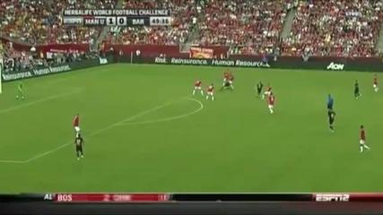 Manchster United-barcelona 2:1 30.07.2011
