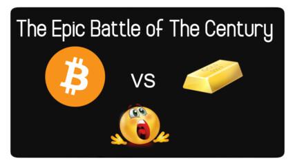 Епичната Битка на 21ви Век: Bitcoin vs Gold