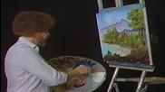 S03 Радостта на живописта с Bob Ross E07 - тих залив ღобучение в рисуване, живописღ