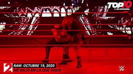 Top 10 Mejores Momentos de Raw En Español: WWE Top 10, Oct 19, 2020