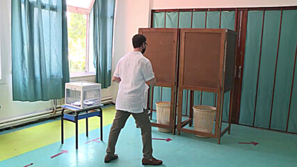 Algeria: Pres Tebboune votes as people go to polling stations in parliamentary elections