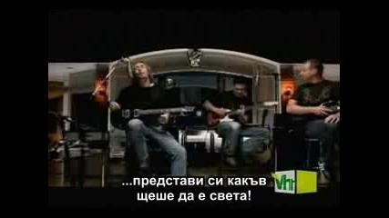 Nickelback - If Everyone Cared + Бг Субтитри