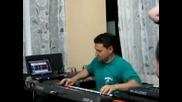 dj митака - mene e ucilo vreme на живо от шипково 2011 клавир марто