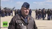 Руските военновъздушни сили се подготвят в парада в чест на Деня на Победата