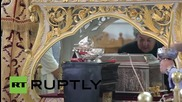 Greece: Hundreds queue to see Saint Barbara relic