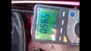 Lambda sensor voltage