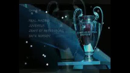 Груповата Фаза На Champions League