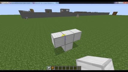 Minecraft Kak se pravi jelezen snejen chovek