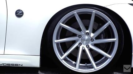 Красота! Nissan 370z с джанти Vossen