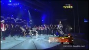 Shinee Just Dance at Kbs Gayo Daejun 09