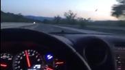 Джигит по нашите пътища: с 315 км/ч и чалга до дупка