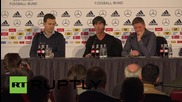 Germany: National Manager Loew discusses football in the wake of Paris terror