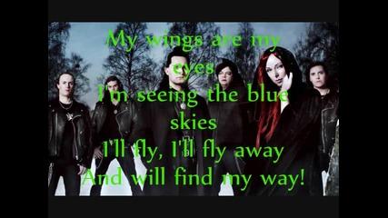 Amberian - Dawn Wings Are My Eyes Lyric Video
