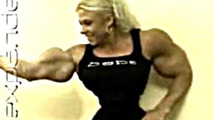 Жената С Най - Тънка Талия И С Най - Големи Мускули !!!