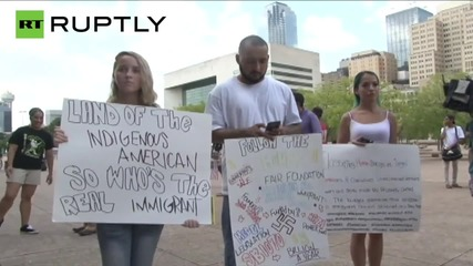 Anti Trump Rally Takes Dallas by Storm