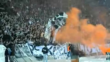 Paok - aris Play off (crazy Paok Fans)