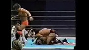 NJPW Keiji Muto, Rick Steiner & Scott Steiner vs. Masahiro Chono, Kevin Nash & Scott Hall 05.03.97