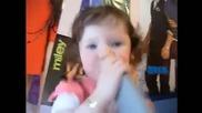2 years old - Ella sing Baby by Justin Bieber
