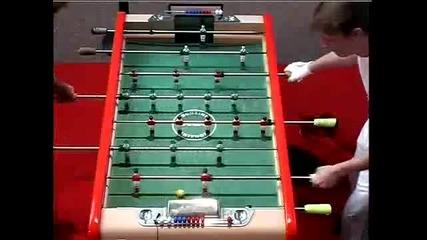 Frederic Collignon vs Jamel Nassih at Bonzini World Championship