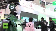 UAE: The 'real' Robocop shown off to royalty at Dubai tech conference