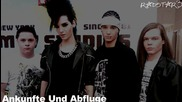 || Tokio Hotel - Ankunfte Und Abfluge || Поредния инструментал за албум на Токио Хотел