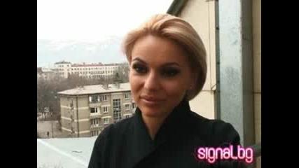 Интервю - Алисия в Радио Сигнал Плюс