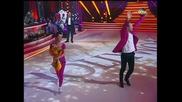 Dancing Stars - Дарин Ангелов и Ани - фрийстайл (08.04.2014 г.)