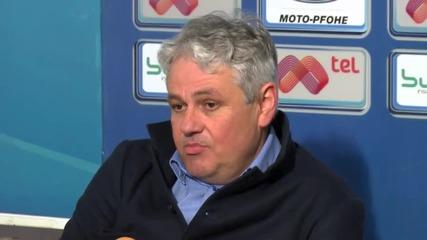 Наставникът на Левски: Не приличахме на отбор