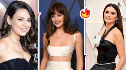 Секс, но не съвсем: Холивудските звезди, които ползват дубльори за горещите сцени!