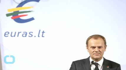 EU's Tusk Says Sanctions on Russia Must Be Maintained