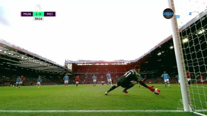 Манчестър Юнайтед - Манчестър Сити 2:0 /репортаж/