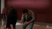 Glee - Rachel & Finn - Smile (1x12)