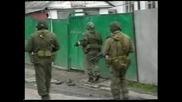 Войната в Чечня неизлачвани кадри от битките